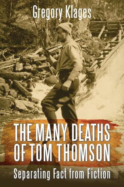 Cover of book about Tom Thomson