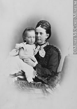 Ada Redpath and her daughter