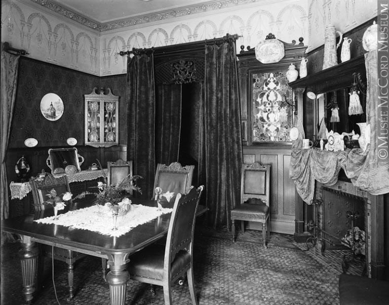La salle manger de mme david morrice montr al qc 1899 for Salle a manger montreal