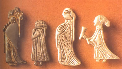 [ Swedish Amulets of Female Figures ]