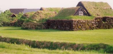 Ferme datant du 19e siècle, Skógar, sud de l'Islande