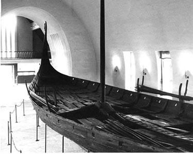 Bateau d'Oseberg datant d'environ 835